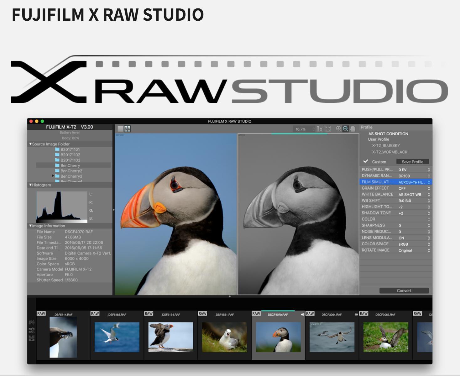 Digital Media: First impressions of Fujifilm's Fujifilm X RAW Studio
