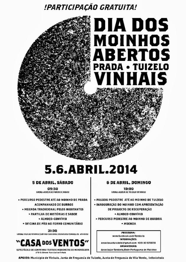 42e3be64a Moinhos Abertos nos dias 5 e 6 de Abril em Prada,Tuizelo, Vinhais ...