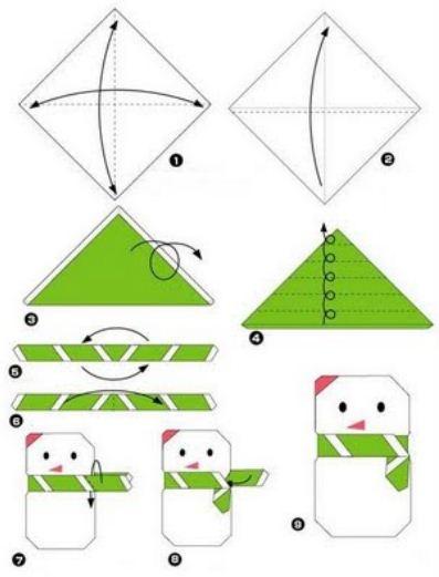 Manualidades en papel para ni os - Manualidades paso a paso para navidad ...