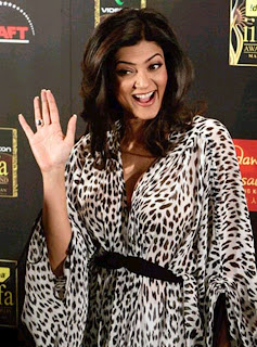 Hand of Sushmita Sen Indian Palmistry