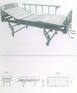 distributor tempat tidur pasien