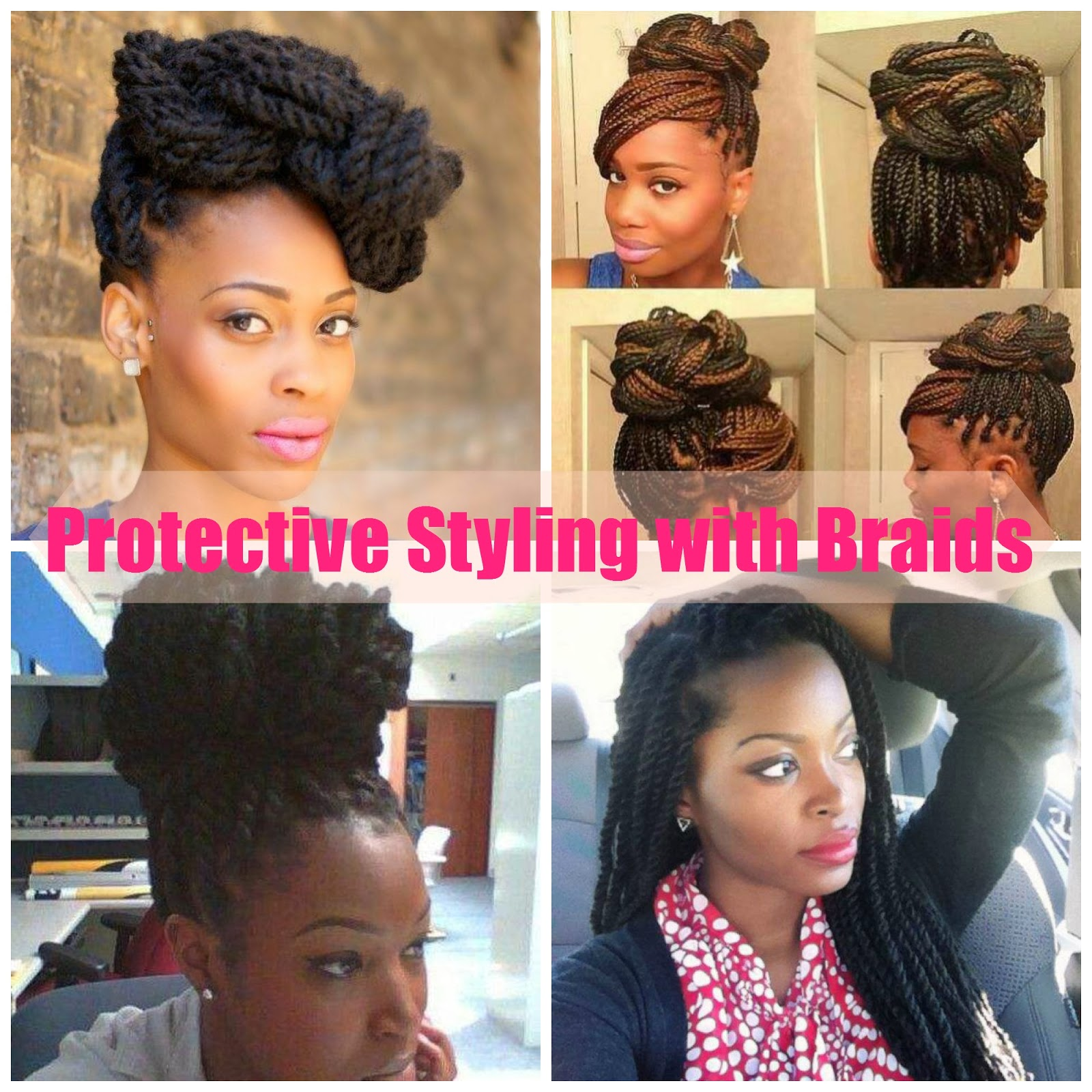 Astounding Protective Styling Natural Hair Are Your Options Limited Hairstyles For Women Draintrainus