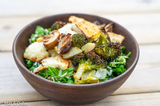 Grönsaksbowl för 5:2 dagar