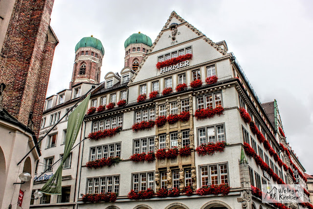 Monachium kamieniczki