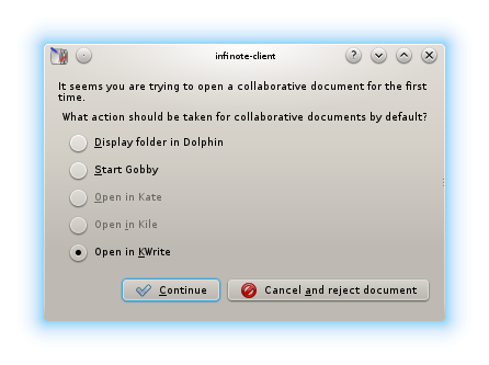 Collaborative text editing in KTextEditor and kde-telepathy