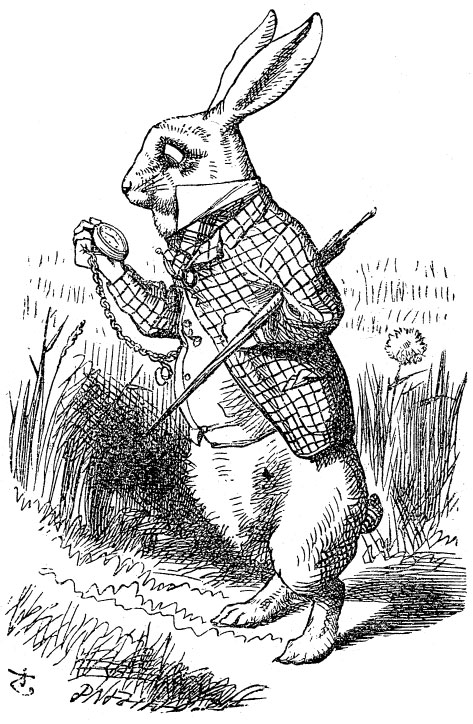 FMP research: alice in wonderland illustrations