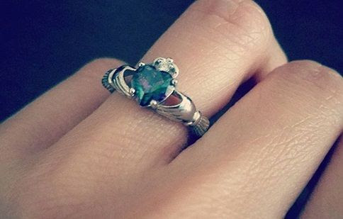 Irish Wedding Rings Claddagh 93 Stunning Shows the Meanings through