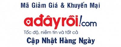 Chương trình khuyến mại, giảm giá tại Adayroi.com