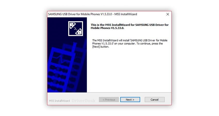 Download SAMSUNG USB Driver v1.5.33.0