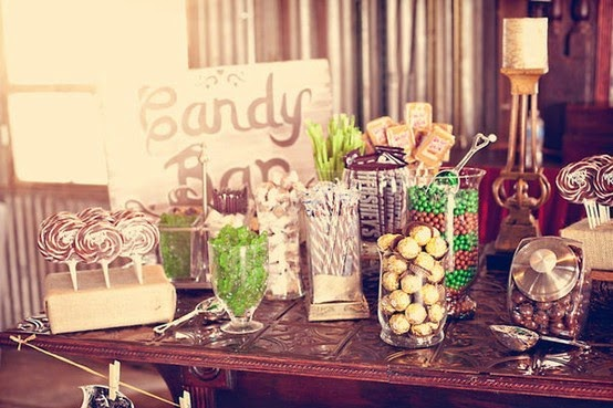 Trends In Wedding Day Buffets That You Need On Your Big Day: FASHION BLOG: WEDDINGS: Candy Bar