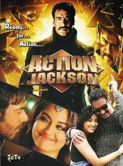 Action Jackson (2014) Hindi HDRip 480p 400MB Poster