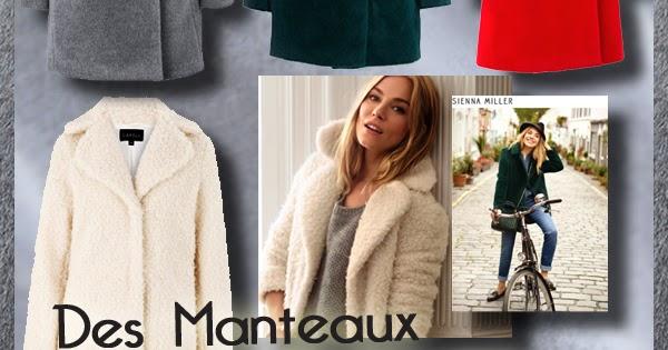 67e1a1c9174 Manteaux CAROLL chauds en laine et alpaga
