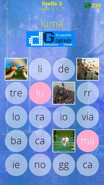650 Foto soluzione pacchetto 3 livelli (1-25)