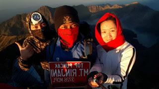 Top of Mount Rinjani