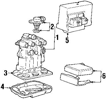 Wiringdiagrams: 2000 Buick Regal ABS System Diagram