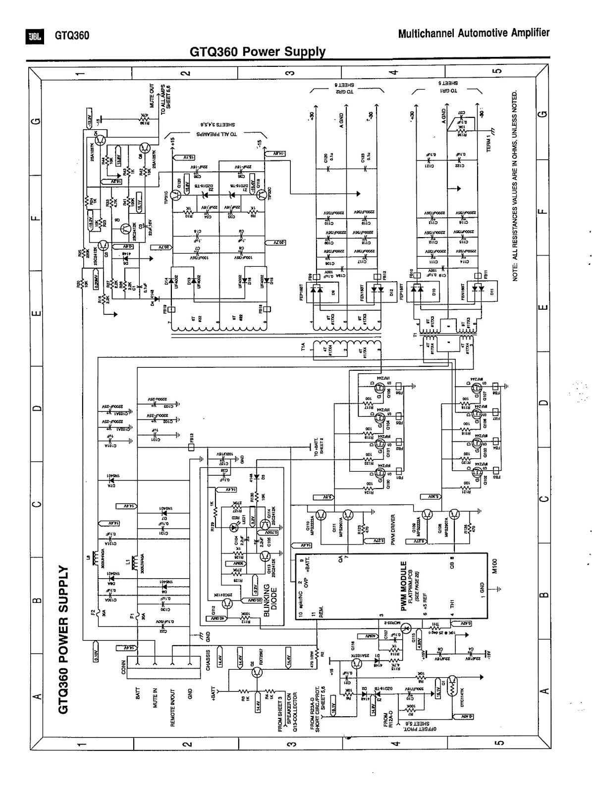 jbl gtq360 car casette cd tuner wiring diagram. Black Bedroom Furniture Sets. Home Design Ideas