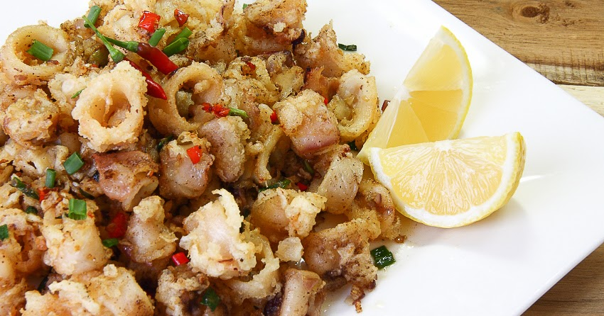 Five-Spice Fried Calamari With Sesame And Lime Recipe — Dishmaps