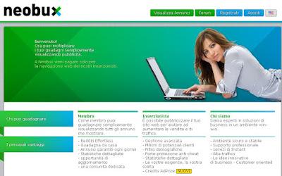 Iscrizione Neobux