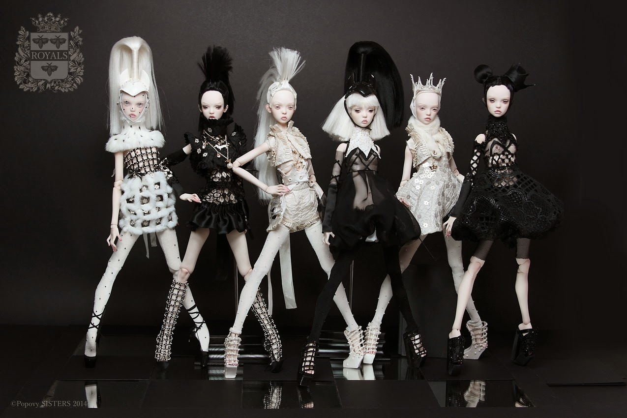 New: autumn collection of doll up sisters