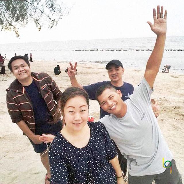 Hangout di Pantai Remis Kuala Selangor