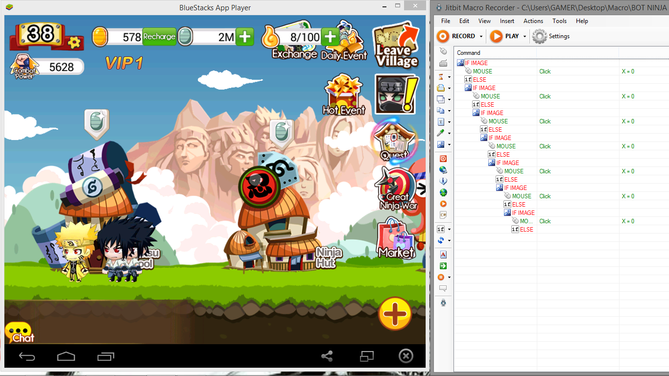 Bluestacks Macro Bot