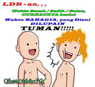 Meme Tuman LDRan Ngenes Banget