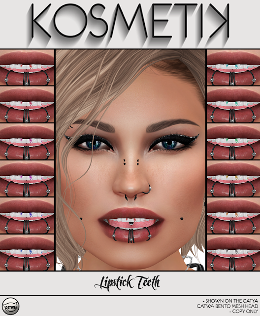 .kosmetik NEW Lipstick Teeth