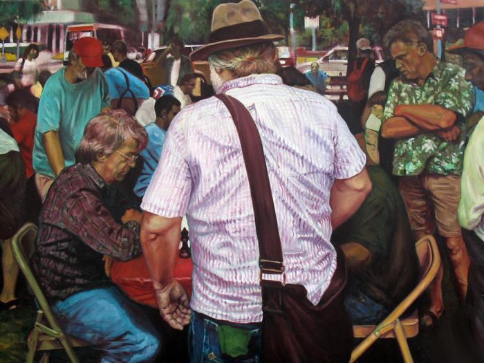 Американский художник. Ben Ferry