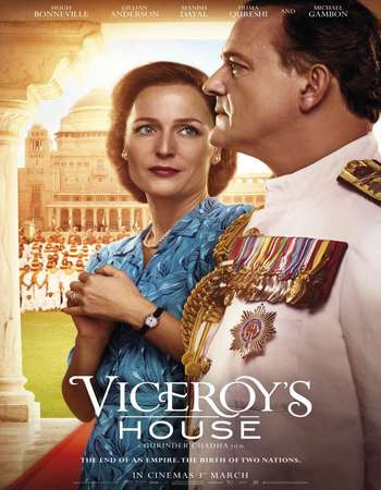 Poster Of Free Download Viceroy's House 2017 300MB Full Movie Hindi Dubbed 720P Bluray HD HEVC Small Size Pc Movie Only At worldfree4u.com