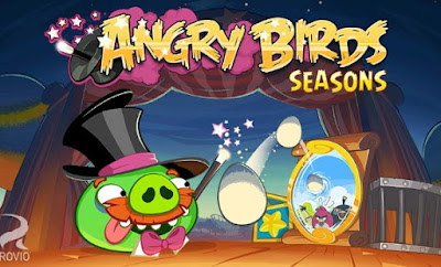 Angry Birds Seasons Apk (MOD, unlimited coins) for android
