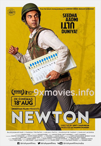 Newton 2017 Hindi 720p HDRip 750mb