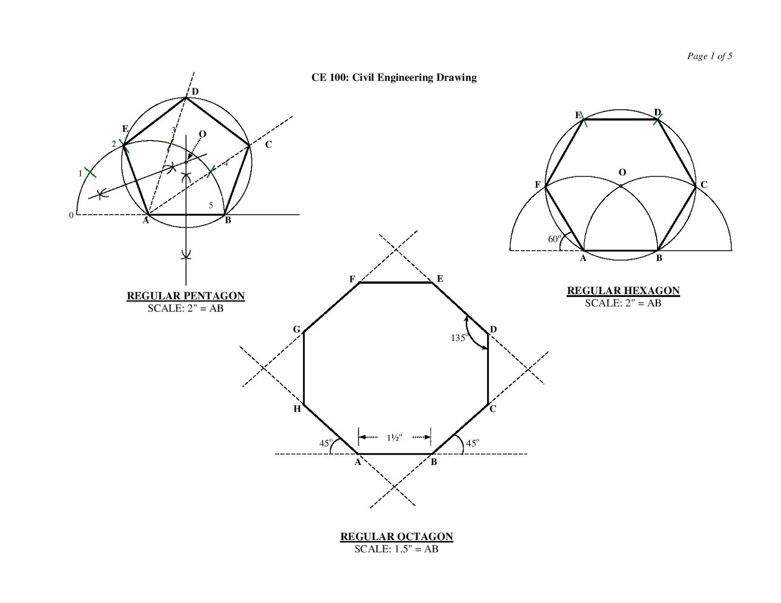 Engineering Drawing ~ Civil Engineering Study Materials
