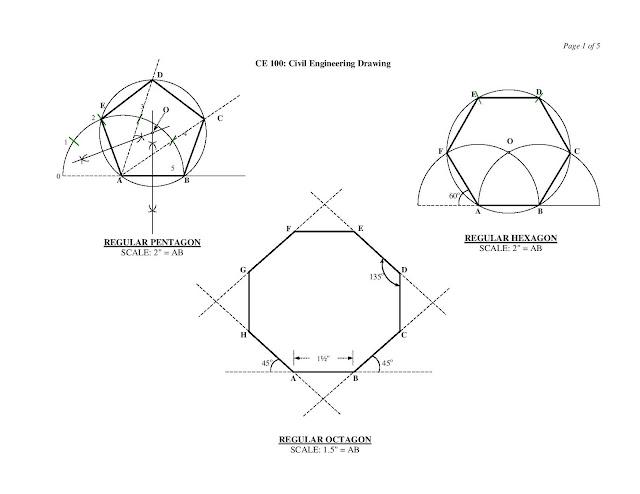 Engineering Drawing ~ Civil Engineering Study Materials