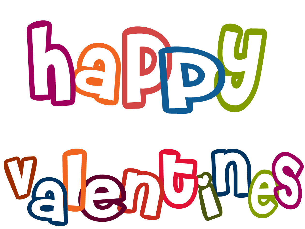 Free Cute Happy Valentines Day Clipart Greetings For Facebook And . 1260 x 945.Text Valentine Day Messages Zgen
