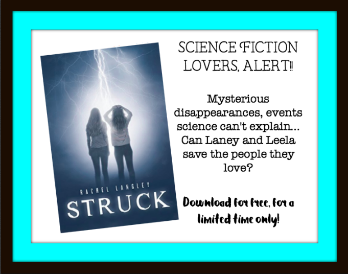 Time Sensitive!! Free download for Sci Fi Lovers - STRUCK by Rachel Langley!  Suspense, YA, Science Fiction book recommendation