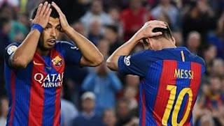 Menang 4-2 atas Eibar, Barcelona Runner-up Liga Spanyol 2016-2017