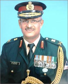 Lt Gen SK Shrivastava DGBR