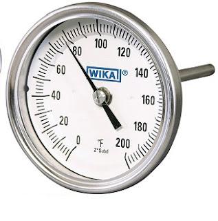 Đồng hồ nhiệt độ wika loại chân sau