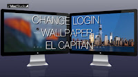 Change Login Wallpaper El Capitan