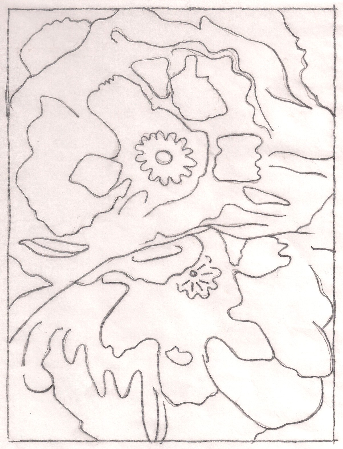 okeefe coloring pages - photo #16