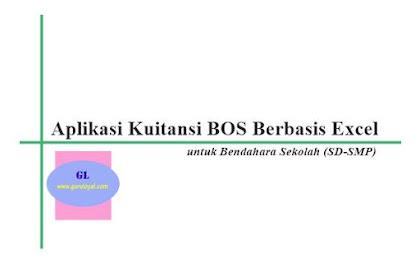 Aplikasi Kuitansi BOS Berbasis Excel