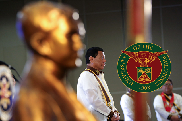 Wow! Here's why President Duterte declined the UP honorary degree