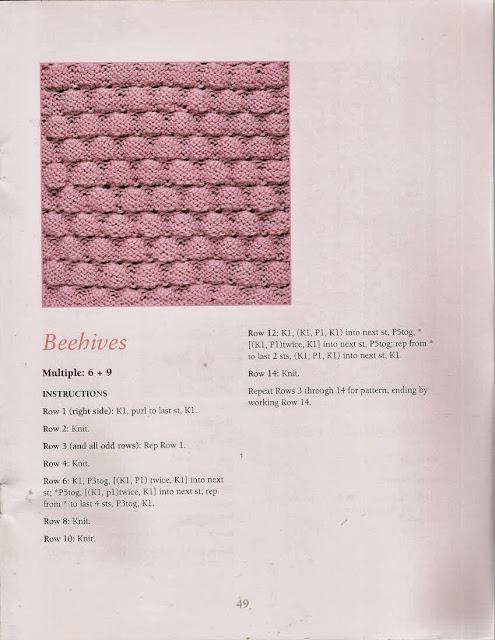 Ponto de Tricô 37 - 50 Fabulous Knit Stitches
