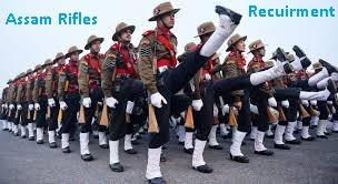 assam rifles recuirment