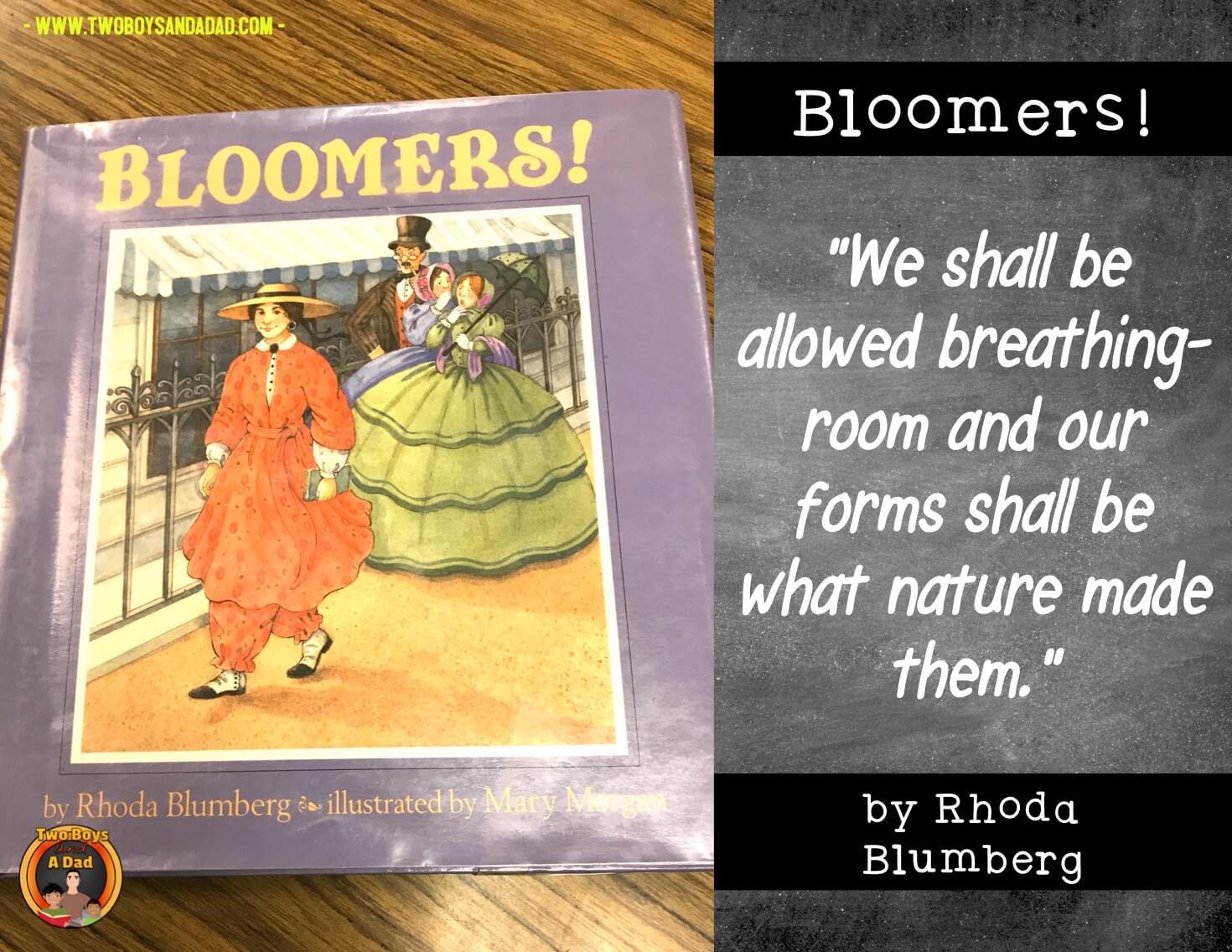Amelia Bloomer inspiring woman
