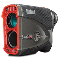 Bushnell Pro X2 Golf Laser Rangefinder, with Slope Switch, PinSeeker with Jolt, Dual Display, ESP 2