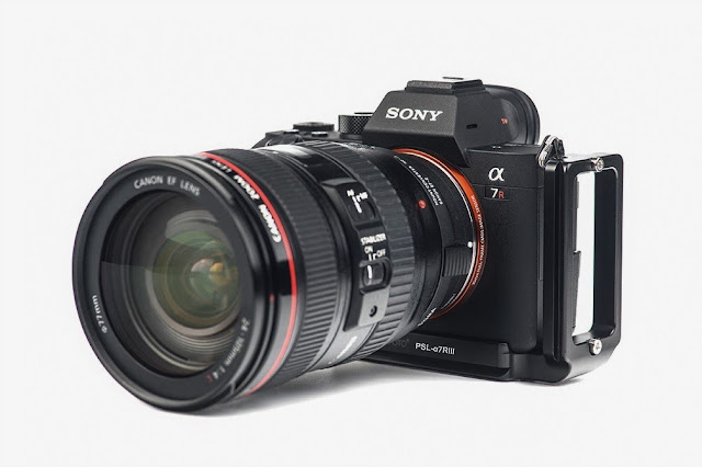 Sunwayfoto PSL-a7RIII L Bracket on SONY α7R III Camera