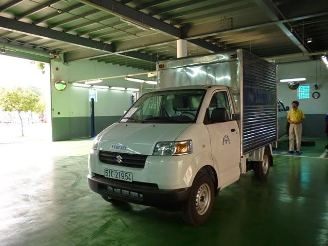 bán xe tải suzuki thùng kín 6