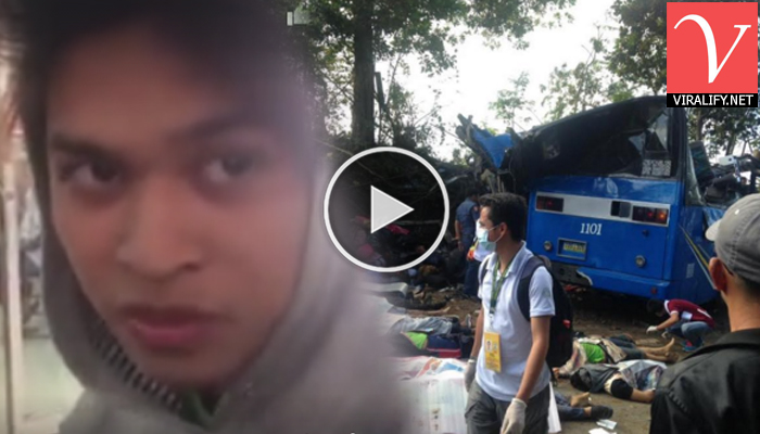 IN VIDEO: A Survivor From Tanay Bus Accident Shares About What Happened and Sign of Tragic Accident