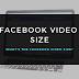 Facebook Video Length